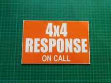 Respuesta de 4X4 dashcard Rescate Montaña de llanura de rescate Cueva guardacostas RNLI