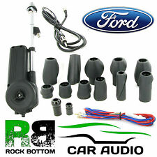 FORD 12V Universal Electric Automatic Wing Mount AM/FM Car Radio Aerial Antenna