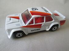 1982 Matchbox 45 Fiat Abarth Sports Car #9 (1:53 White England) Mint