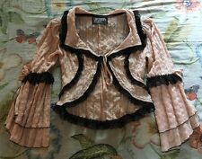 Gorgeous Vintage Lip service steampunk victorian gothic Lolita jacket coat small
