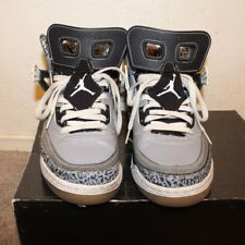 Nike Air Jordan Spiz'ike Stealth / Black 315371-091 Size 10
