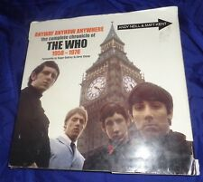 BS752 Anyway Anyhow Anywhere the Complete Chronicle of The WHO 1958-78 Book