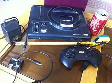 SEGA Mega Drive Genesis Model 1 with Pad Plug Aerial Tested Working