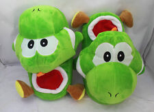 super mario brothers yoshi plush indoor slippers warm house shoes new