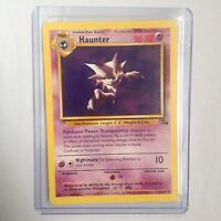 Haunter Pokemon Card 21/62 Fossil Near Mint Minus Condition (NM-)