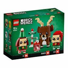 LEGO BrickHeadz Reindeer Elf Seasonal Set 40353 Kids Xmas Gift New & Sealed