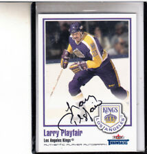 2002-03 Fleer Greats Of The Game Throwbacks Larry Playfair Autograph Auto