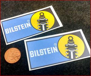 Bilstein Shock Absorbers Rally Vinyl Car Decal Bumper Sticker x2