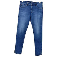 AG Adriano Goldschmied The Farrah Skinny Ankle High Rise Jeans Size 29R