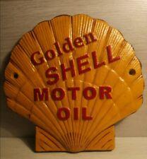 SHELL - Heavy Cast Iron Sign
