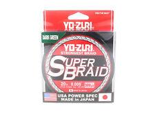 Yo Zuri Duel P.E Linie Super Braid 300YDS 20Lbs (0.23mm) Green R1266-DG