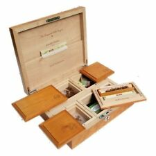 Wolf Production T5 Ultimate Deluxe Wooden Rolling Box Lockable Quality Hardwood