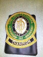 druid hills golf club award