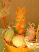 Polyester//Felt Avon Small Easter Gift Bag