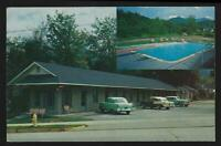Vintage Postcard Reagan's Tourist Court and Motel, Gatlinburg, Tennessee 1961