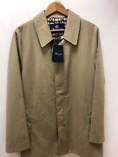 AQUASCUTUM BERKELEY RAIN MAC IN CAMEL LARGE.