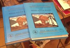 Oil and Gas and Other Resources Wind River Basin Wyoming 2 Vol Set 1993 Rare