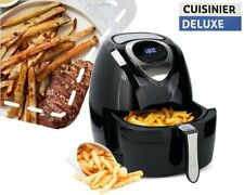 3.2 liter 1400W Cuisinier Deluxe hot air fryer digital timer