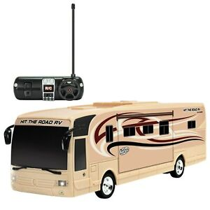 Remote Control RV with Beaming Lights, Rechargeable Battery – High-Speed