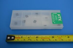 10 x NTK CPGH040104TLA1 - T15CPGP621-TL--A1 Milling Inserts (5657564)