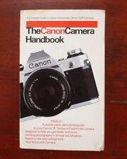 Book: The Canon Camera Handbook, 1981/180619