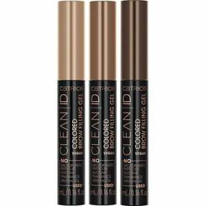 CATRICE Clean ID Coloured Brow Filler Gel - Eyebrow Defining Tinted Mascara