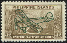 Scott # C51 - 1933 - ' Baguio Zigzag ', Ovptd. Air Mail