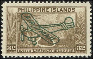 Scott # C51 - 1933 - ' Baguio Zigzag ', Ovptd. Air Mail