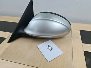 2006 BMW 3 Series E90  N/S Passenger Electric Door Wing Mirror silver