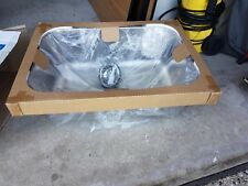 STAINLESS  STEEL LAUNDRY SINK 50mm 610x440