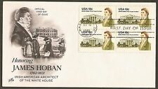#1935 18c James Hoban - ArtCraft FDCB4