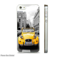 CITROEN 2CV CAR ART  PHONE CASE FITS IPHONE 4 4S 5 5S 5C 6 6S 7 8 SE PLUS X S