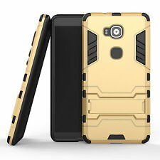 For Huawei G8/G7 Plus/Mate S Hybrid Armor Hard Shockproof Kickstand Cover Case