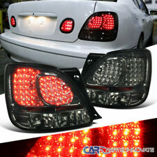 Fit Lexus 98-05 GS300 GS400 GS430 Smoke Rear LED Brake Tail Lights Parking Lamps