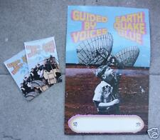 GUIDED BY VOICES CONCERT TOUR POSTER & POSTCARDS 2003