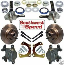 DELUXE HOT ROD FRONT BRAKE & SPINDLE KIT,5 X 5""
