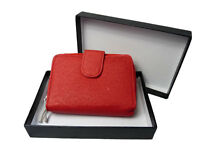 Leather Purse NEW GIFT BOXED Soft Real Leather ladies Coin Purses QUENCHY Q033M