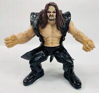Vintage 1998 WWF Jakks Maximum Sweat Undertaker Wrestling Figure WWE