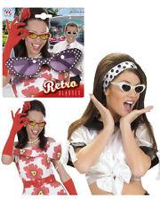 Occhiali retro accessori costume carnevale Rock'n'Roll, Twist, Pink Lady *19711