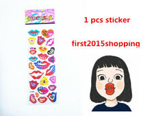 2018 Lip Pattern Paper Crafts Stickers Lot For Handmade Kid Gift Vinyl Art UK