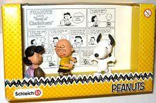 PEANUTS Charlie Brown Classic Scenery  3er Figuren Set Snoopy Schleich NEU (KB*