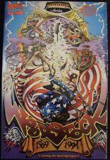 WOODSTOCK 1 MARVEL MUSIC COMIC TODD EMOND SCHNEIDER REDDING BARKER 1969 1994 NM