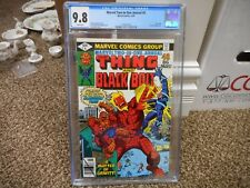 Marvel Two in One Annual 4 cgc 9.8 Black Bolt and Thing Graviton WHITE pgs 1978