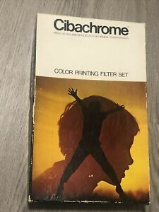 Ilford Cibachrome Color Printing Filters Set 6x6