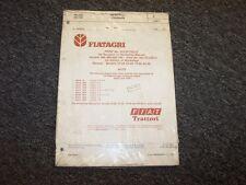 Fiat 466 566 666 766 55-66 60-66 70-66 80-66 Tractor Service Shop Repair Manual