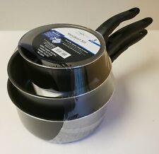 MainStays sauce pan set.  3 pcs, Brand New In Packaging, Teflon Nonstick Coating