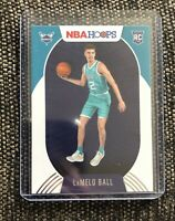🔥2020-21 Panini NBA Hoops Lamelo Ball Rookie #223 Charlotte Hornets RC