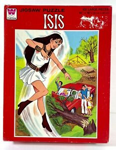 ISIS Jigsaw Puzzle - 100% Complete -  100 pieces - Whitman -1976 Filmation
