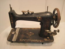 P1 VINTAGE CAST IRON POPLIAR TREDDLE SEWING MACHINE TABLE PARTS SEWING MACHINE