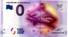 Billet touristique - 0 Euro - France - La Rochelle - Aquarium (2016-1)